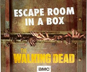 Escape Room in a Box:The Walking Dead Board Game, Party Game for 4 to 8 Players , an item from the 'Halloween Party Games' hand-picked list