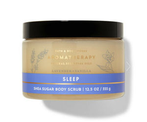 Bath & Body Works Aromatherapy Sleep Lavender Vanilla Shea Sugar Body Scrub 13oz, an item from the 'Blissful Baths' hand-picked list