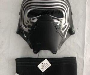 Kylo Ren Mask Child Star Wars The Force Awakens Halloween Costume Rubies New, an item from the 'Kids Halloween Costumes' hand-picked list
