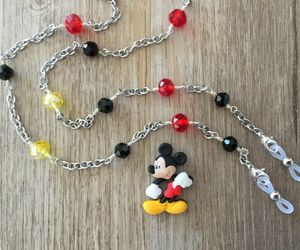 Mickey Inspired Glasses Chain, Mask Holder, Eyeglass Necklace, Sunglasses Strap, an item from the 'Vision with Style' hand-picked list