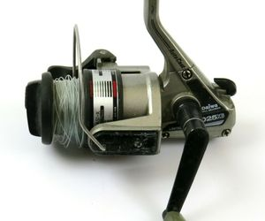 Vintage Daiwa D25XB Ball Bearing Open Spinning Fishing Reel, Read, an item from the 'Community Picks: Gone Fishing' hand-picked list