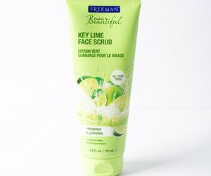 Freeman Feeling Beautiful Key Lime Face Scrub 6.0 fl oz Skin Care Refreshes New , an item from the 'Key Lime - A Taste of SPRING ' hand-picked list