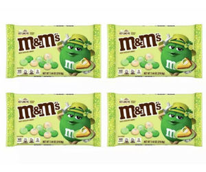 4x M&M's Limited Ed KEY LIME PIE White Chocolate Easter Candy 7.44oz 11/21 M&M, an item from the 'Key Lime - A Taste of SPRING ' hand-picked list