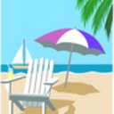 Beach chair sailboat thumb128