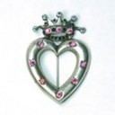 Pin crown heart 1 thumb128
