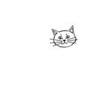 Cat drawing thumb128