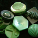 Green vintage buttons thumb128