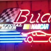 Bud nascar neon thumb175