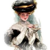 Victoriantealady harrisonfisher 1  thumb175