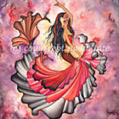 Flamenco mermaid thumb175
