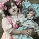 Girl w doll2 thumb128