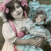 Girl w doll2 thumb175