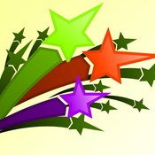 Downloadpsdfile.com colorful shooting stars psd 1  thumb175