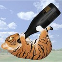 Tiger tanker bengal tiger wine bottle holder thumb128