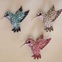 Hummingbird rhinestone pins thumb128