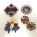 Purple brooches thumb128