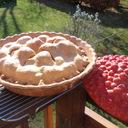 Pie baked in treasure craft pie holder thumb128
