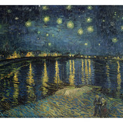 Vincent van gogh starry night over the rhone c 1888 thumb175