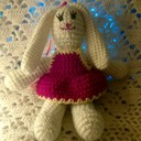 Crocheted bunny thumb128