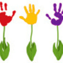 Bonanza flower handprint avatar thumb128