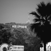 Hollywood sign 15bw thumb175