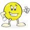 Cartoon giving thumbs up thumb48
