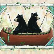 Bears in canoe thumb175