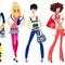 Fashion shopping girls with shopping bags 558091 thumb48