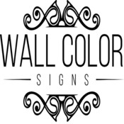 Wall color b w logo square thumb175