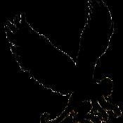 Monkey silhouette left thumb175