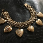 Vintage charm bracelet thumb175
