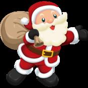 Cute santa png clipart 21 thumb175