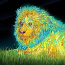 2470410 ipad 19016 photo manipulation psychedelic trippy psychedelic lion thumb128