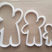 Tter dough biscuit pastry fondant sharp stencil gingerbread person xmas christmas food thumb175