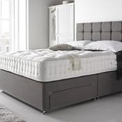 Grey divan bed   origional pic thumb175