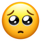 Apple emoji update 2018 face with pleading eyes thumb48