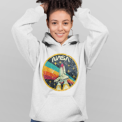 Mockup of a flirty woman wearing a pullover hoodie in a studio 23962 thumb175
