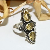 Virtual pear oval shape yellow citrine 925 sterling silver ring arct1348 5 a 500x554 thumb175