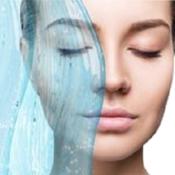 Water splash fresh skin over white background cleansing moisturizing concept burned  2  thumb175