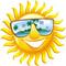 Cartoon sun smiley face vector design 581878 thumb48
