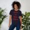 Livin la vida lagos dark red mockup front womens lifestyle 2 navy thumb48